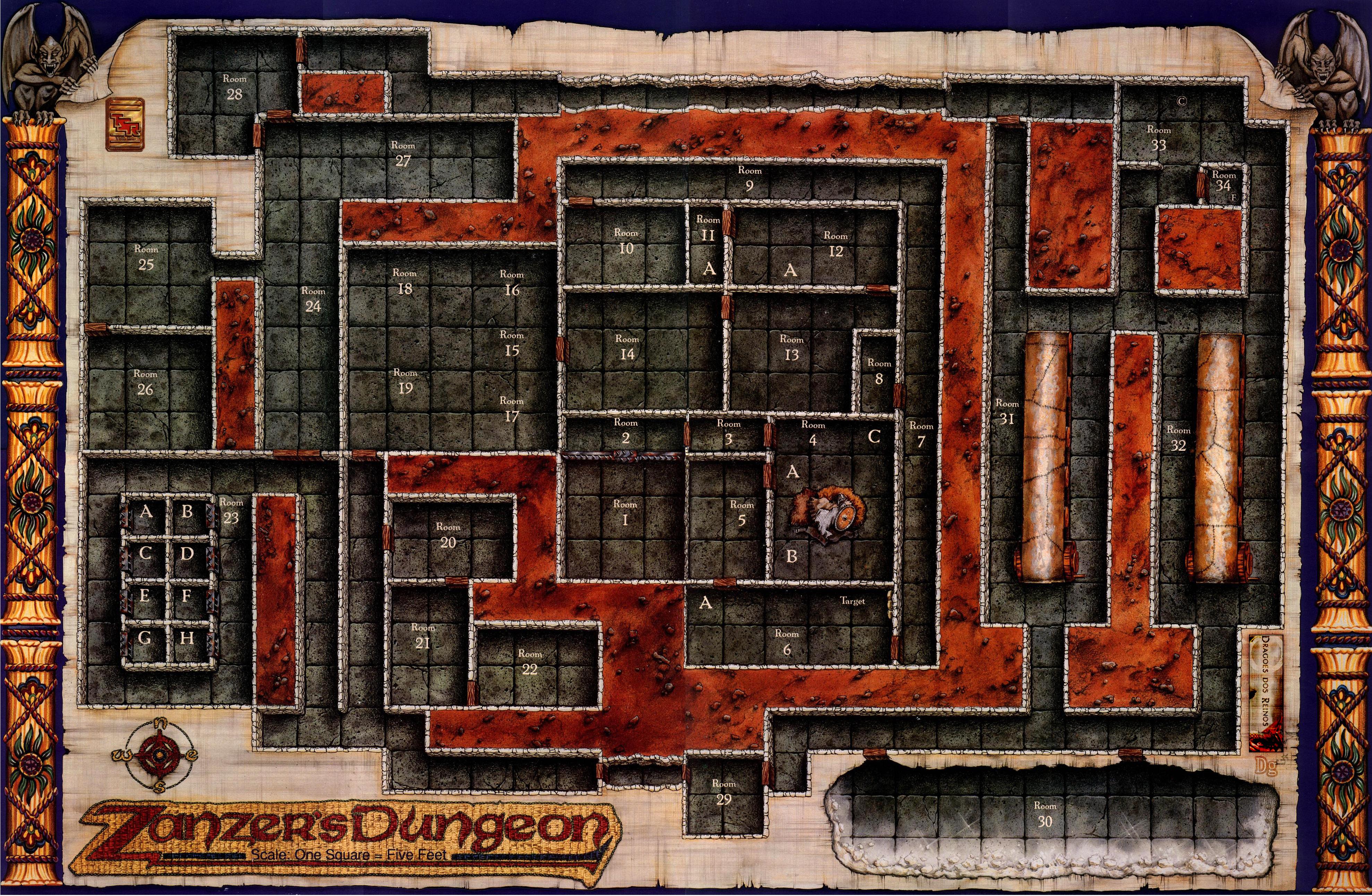 Room Planning Grid Zanzer S Dungeon Necropraxis